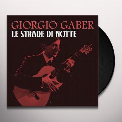 Giorgio Gaber LE STRADE DI NOTTE Vinyl Record