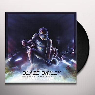 Blaze Bayley ENDURE & SURVIVE (INFINITE ENTANGLEMENT PART II) Vinyl Record