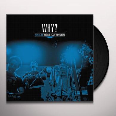 Why LIVE AT THIRD MAN RECORDS Vinyl Record