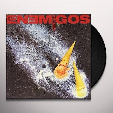 ENEMIGOS LA VIDA MATA Vinyl Record