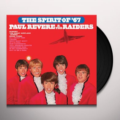 Paul Revere & Raiders SPIRIT OF '67 Vinyl Record