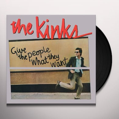 The Kinks GIVE THE PEOPLE WHAT THEY WANT - Limited Edition 180 Gram Clear Colored Vinyl Record