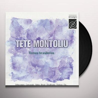 Tete Montoliu TEMAS BRASILENOS Vinyl Record