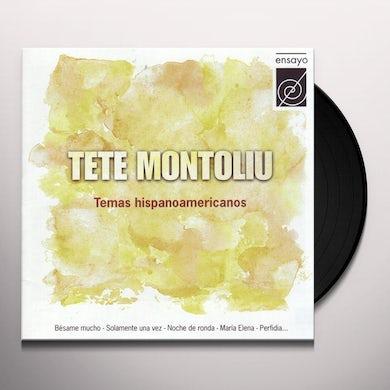 Tete Montoliu TEMAS HISPANO-AMERICANOS Vinyl Record