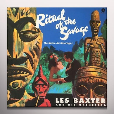 Les Baxter RITUAL OF THE SAVAGE (BONUS TRACKS) Vinyl Record - Colored Vinyl, 180 Gram Pressing