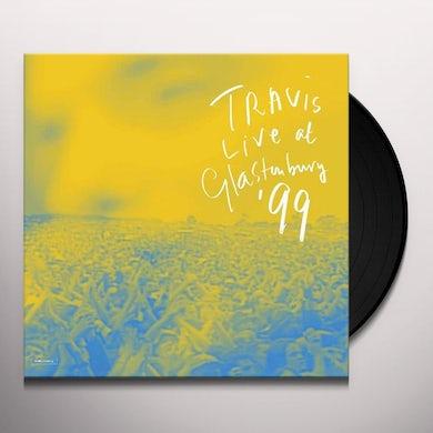 Travis Live At Glastonbury, '99 Vinyl Record