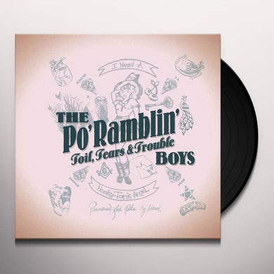 TOIL TEARS & TROUBLE Vinyl Record