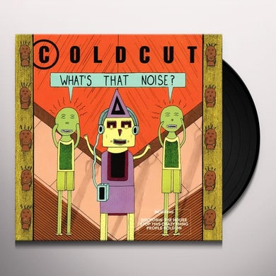 Coldcut  WHAT'S THAT NOISE? Vinyl Record