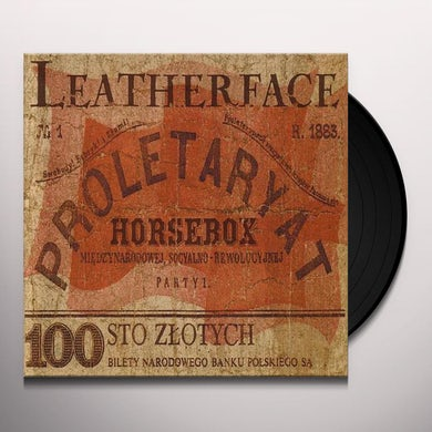 Leatherface HORSEBOX Vinyl Record