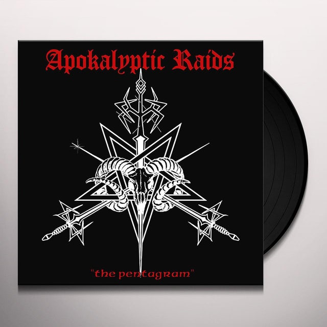 APOKALYPTIC RAIDS PENTAGRAM Vinyl Record