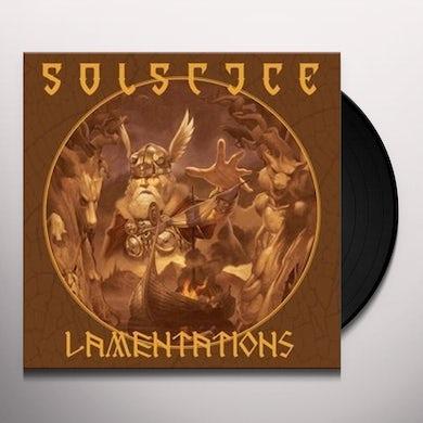 SOLSTICE LAMENTATIONS Vinyl Record - UK Release