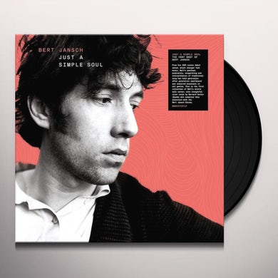 Bert Jansch JUST A SIMPLE SOUL Vinyl Record