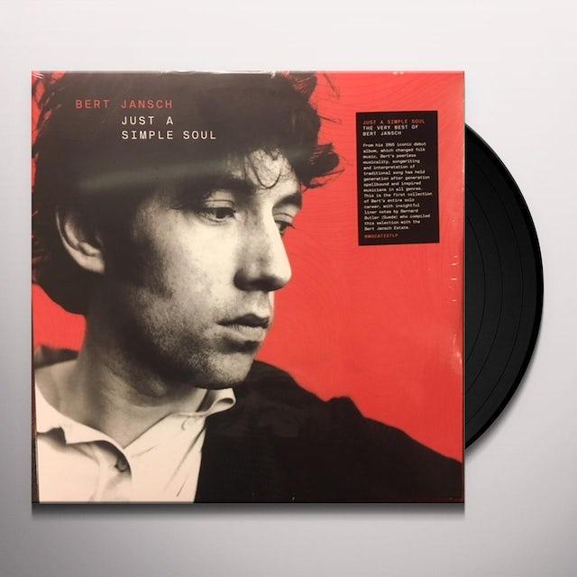 Bert Jansch JUST A SIMPLE SOUL Vinyl Record