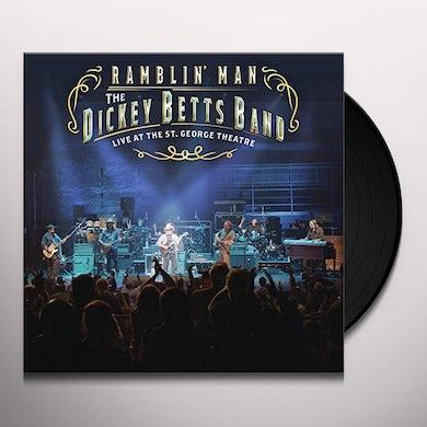 Dickey Betts RAMBLIN' MAN LIVE AT THE ST. GEORGE THEATRE Vinyl Record
