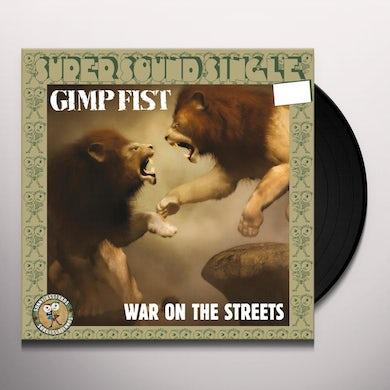 Gimp Fist WAR ON THE STREETS Vinyl Record