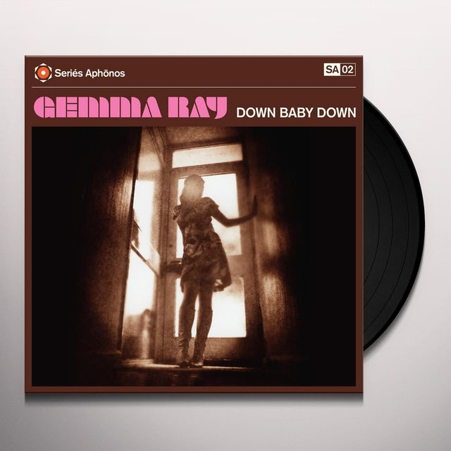 Gemma Ray DOWN BABY DOWN Vinyl Record