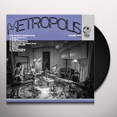 Physics House Band METROPOLIS Vinyl Record