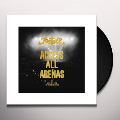 Justice ACCESS ALL ARENAS (2017 EDITION) Vinyl Record