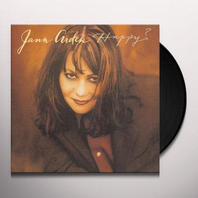 Jann Arden HAPPY Vinyl Record