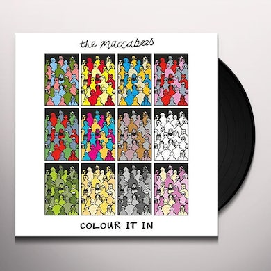 The Maccabees COLOUR IT IN Vinyl Record - UK Release
