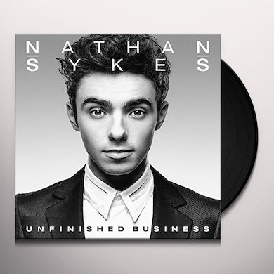 Nathan Sykes UNFINISHED BUSINESS Vinyl Record