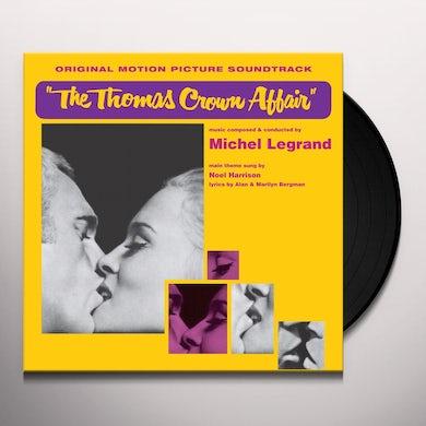 Michel Legrand THOMAS CROWN AFFAIR / Original Soundtrack Vinyl Record