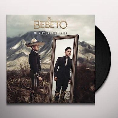 Bebeto MI PERSONA PREFERIDA Vinyl Record