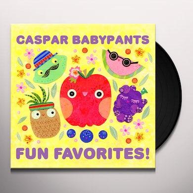 Caspar Babypants FUN FAVORITES! Vinyl Record