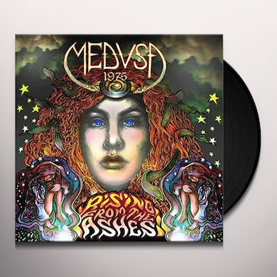Medusa 1975 RISNG FROM THE ASHES Vinyl Record