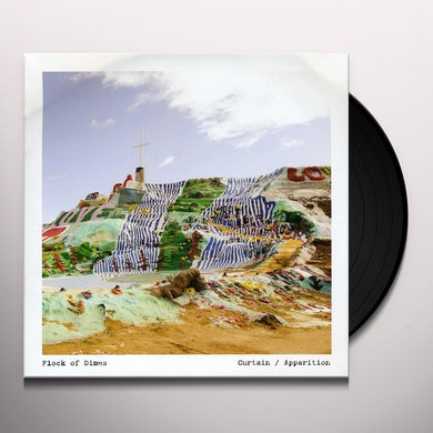 Flock Of Dimes CURTAIN Vinyl Record - MP3 Download Included