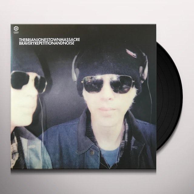 The Brian Jonestown Massacre BRAVERY REPETITION & NOISE (PURPLE VINYL) Vinyl Record