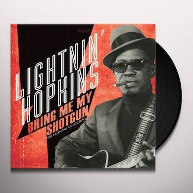 Lightnin Hopkins BRING ME MY SHOTGUN - THE ESSENTIAL COLLECTION Vinyl Record