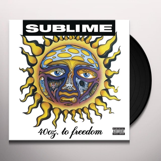 Sublime 40 OZ TO FREEDOM Vinyl Record