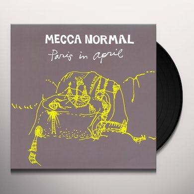 Mecca Normal PARIS IN APRIL Vinyl Record