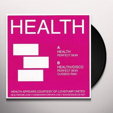 HEALTH PERFECT SKIN / CURSES! RMX Vinyl Record