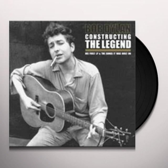 Bob Dylan CONSTRUCTING THE LEGEND Vinyl Record - UK Release