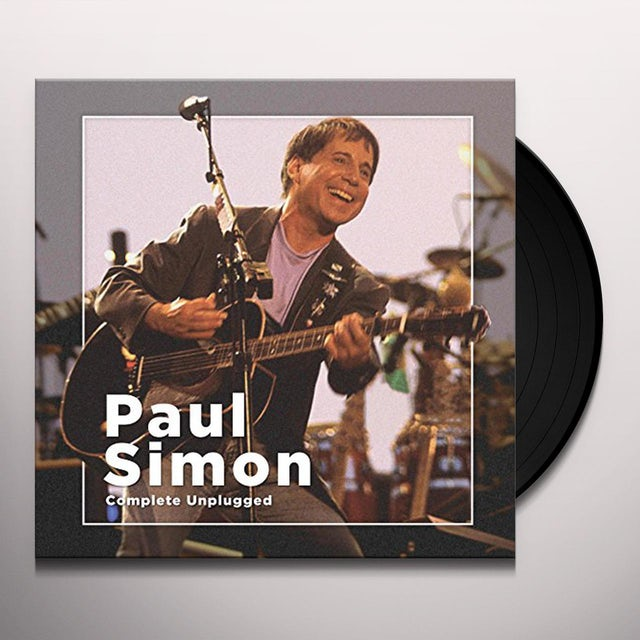 Paul Simon COMPLETE UNPLUGGED Vinyl Record