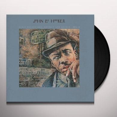 John Lee Hooker EARLY RECORDINGS: DETROIT AND BEYOND VOL. 2 Vinyl Record