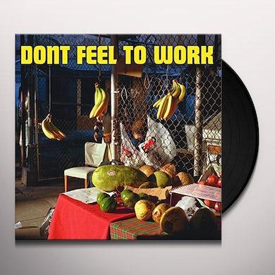 Evan Jewett DON'T FEEL TO WORK Vinyl Record
