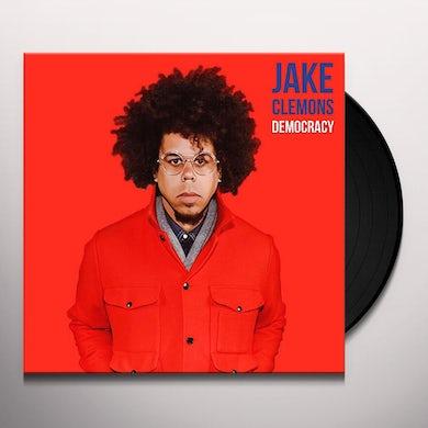 Jake Clemons DEMOCRACY / CONSUMPTION TOWN Vinyl Record