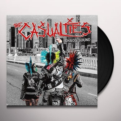 The Casualties CHAOS SOUND Vinyl Record