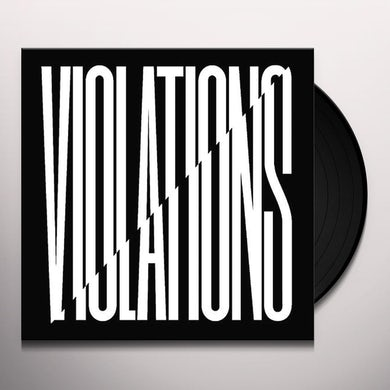 Snapped Ankles VIOLATIONS Vinyl Record