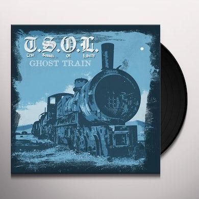 T.S.O.L. GHOST TRAIN Vinyl Record