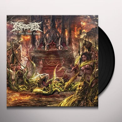 INGESTED LEVEL ABOVE HUMAN Vinyl Record