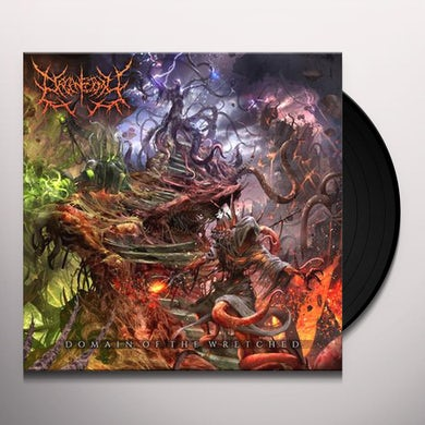 DOMAIN OF THE WRETCHED Vinyl Record