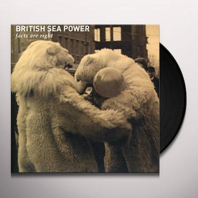 British Sea Power FACTS ARE RIGHT Vinyl Record