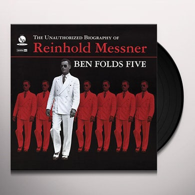 Ben Folds Five UNAUTHORIZED BIOGRAPHY OF REINHOLD MESSNER Vinyl Record