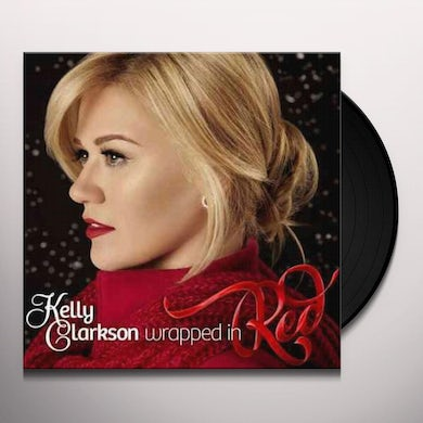 Kelly Clarkson WRAPPED IN RED Vinyl Record