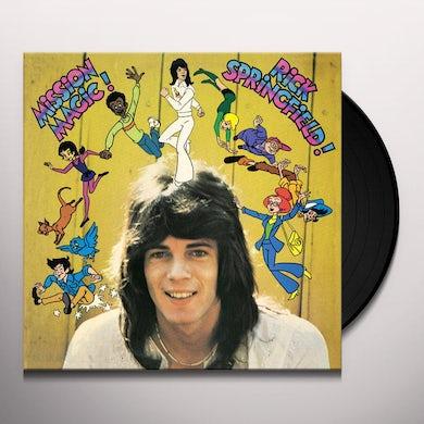 Rick Springfield MISSION MAGIC! Vinyl Record