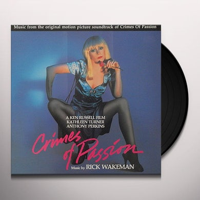 CRIMES OF PASSION / Original Soundtrack Vinyl Record